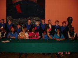2012 spotkanie z Harlem Gospel Choir